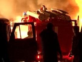 В Монголии сгорел крупнейший в мире кашемировый завод - Видео