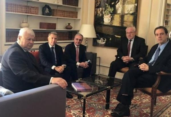 В Женеве начались переговоры Мнацаканяна с сопредседателями МГ ОбСЕ